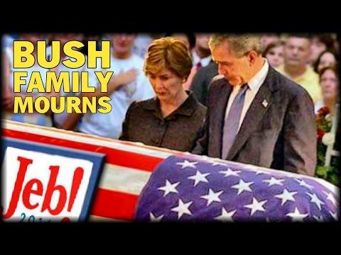 BUSH FAMILY ATTEND JEB CAMPAIGN FUNERAL