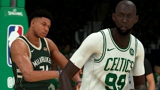 NBA 2K20 Tacko Fall My Career - The Biggest Rivalry in the NBA