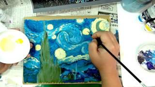 模写講座「ゴゴゴゴ ゴッホ‼  」の紹介動画です。 開催は2017年2月25土...