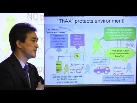 Takashi Kamei - Thorium, China, Environment & Energy @ ThEC12