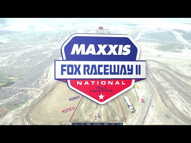 2021 Fox Raceway II National - Animated Track Map