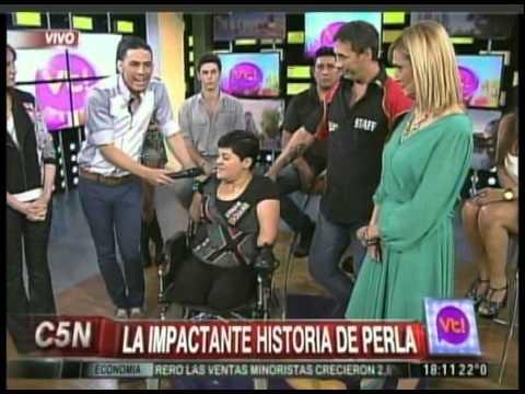 C5N - VIVA LA TARDE: LA IMPACTANTE HISTORIA DE PERLA