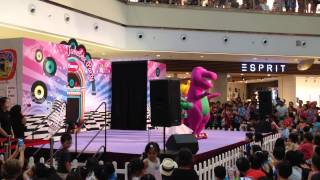 Barney and Friends Live Show at City Square Mall in Singapore! (Part 5)