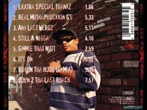Eazy-E - It's On Dr Dre 187um Killa (Full Album)