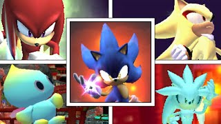 WHAT IF Sonic The Hedgehog Characters Had FINAL SMASHES? (Super Smash Bros Mods)