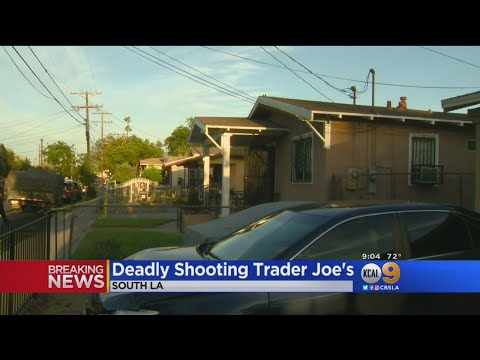 Police Trying To Figure Out Why Trader Joe's Standoff Suspect Allegedly Shot Grandmother In South LA