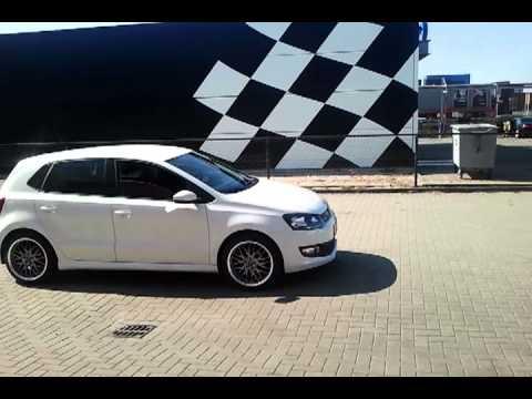 Volkswagen Polo Wit Met Barracuda Velgen Youtube