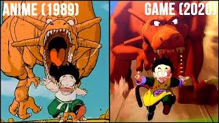 Dragon Ball Z Kakarot Opening: Game (2020) vs Anime (1989) | 4k60