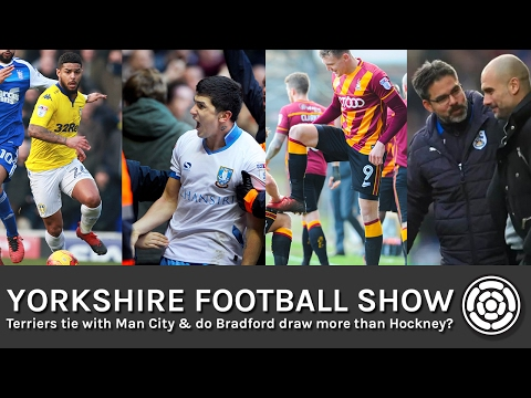 Terriers tie with Man City & do Bradford draw more than Hockney? | Yorkshire Football Show
