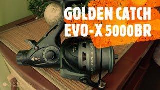 Карповая катушка Golden Catch EVO-X- Честный обзор!