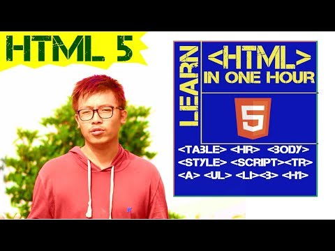 Learn HTML5  In One Hour || HTML In One Video| Learn Fast HTML | HTML Quick Video Beginners Tutorial