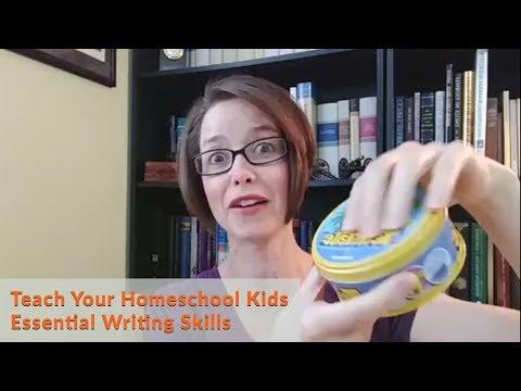 Teach Your Homeschool Kids Essential Writing Skills