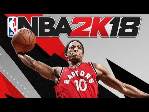 NBA 2K18 Canadian Cover Athlete DeMar DeRozan!