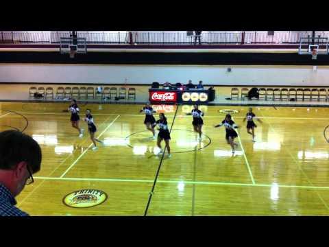 Trinity Christian School Cheerleading 10-11