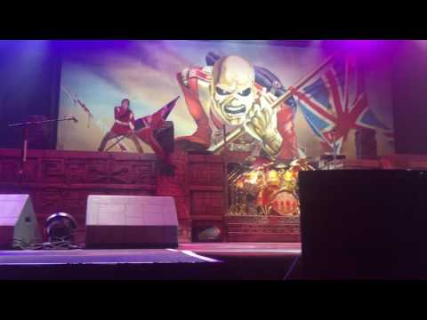 "IRON MAIDEN "" The Trooper"" Live St. Louis 7-12-2017"