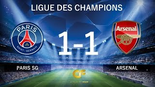 PSG vs Arsenal - CAVANI a tout raté !