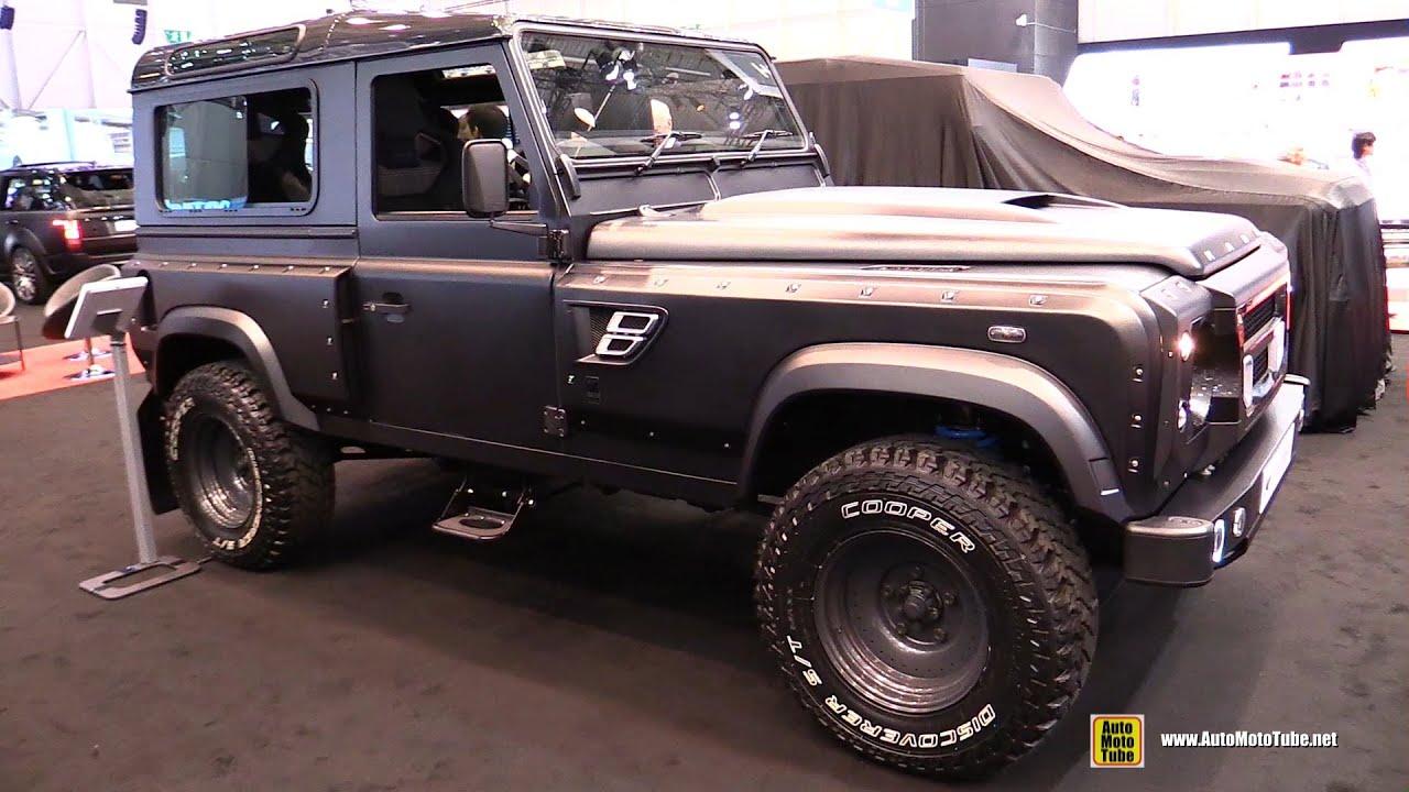 2014 Land Rover Defender Kahn 105 Longnose Concept Chelsea Truck