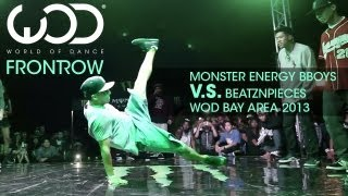Mix - Monster Energy Bboys V.S. BeatzNPieces | FRONTROW | WOD Bay Area 2013