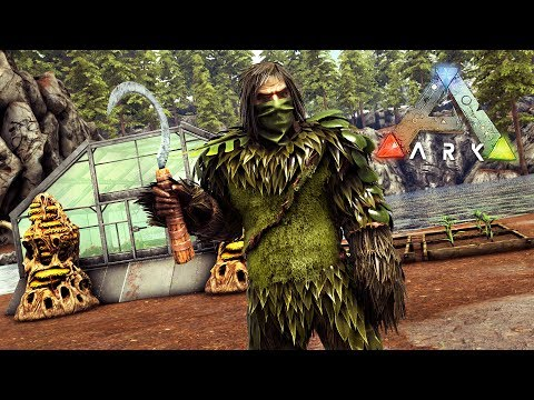 ARK: Survival Evolved - BUILDING OUR FARM & FARMING CROPS!!