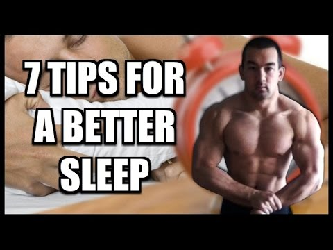 7 Bodybuilding Sleep Tips For Better Rest & Recovery