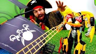 Игры с пиратами и Трансформерами. Бамблби теперь за Десептиконов?