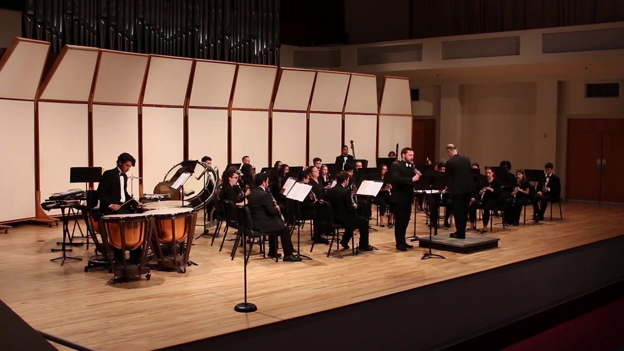 Jesse Gilday, clarinet:  Fantasia and Rondo, Carl Maria von Weber arr. Heim