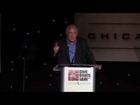 Illinois Governor Pat Quinn on Civil Rights Game