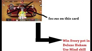 How to Win every Pot In Deluxe Hukam- Teen Patti Gold