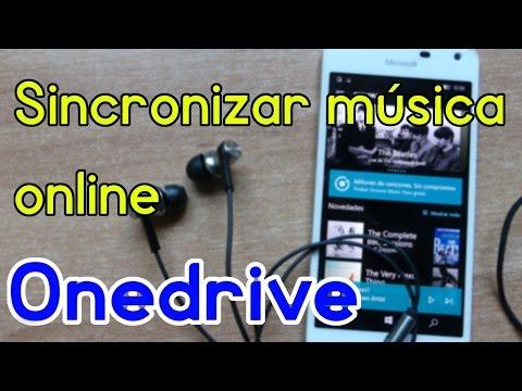 Como sincronizar mi musica en mis dispositivos Windows 10 con OneDrive