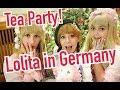 LOLITA TEA PARTY GERMAN STYLE  Japanese Kawaii Fashion celebrated by girls in Europe