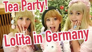 LOLITA TEA PARTY GERMAN STYLE! Japanese Kawaii Fashion celebrated by girls in Europe
