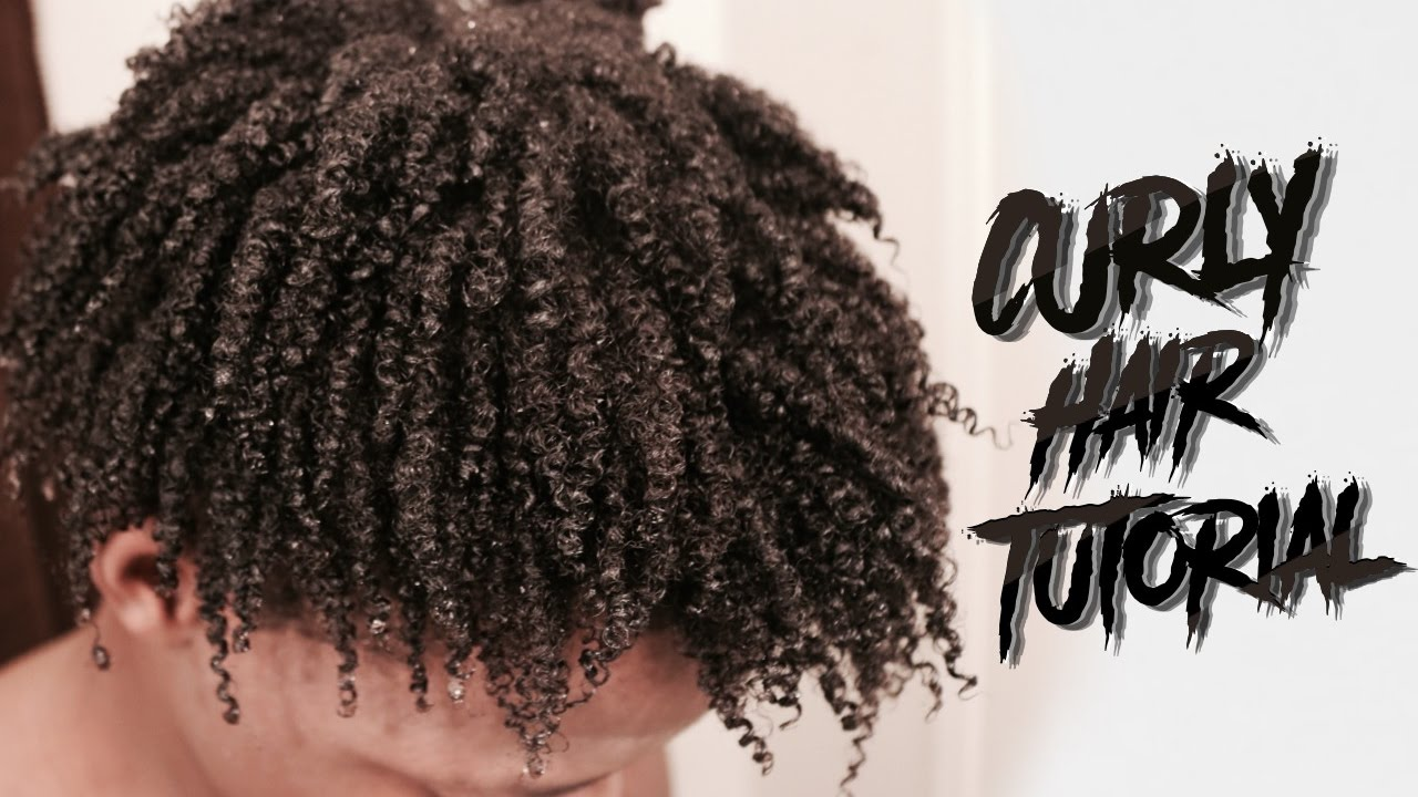 black men curly hair styles how to get curly hair 6741 | maxresdefault