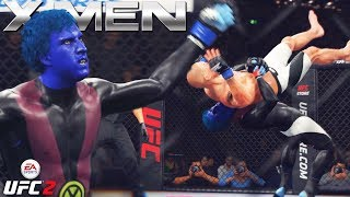 Nightcrawler Teleporting Over The Octagon! EA Sports UFC 2 Online Gameplay