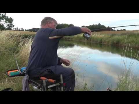 EASY FISHING Carp Fun On A Float Rod And A Centrepin