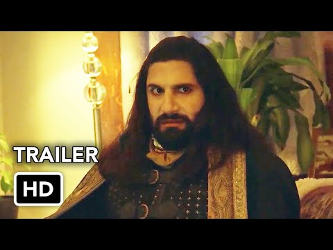 What We Do in the Shadows Season 2 Trailer (HD) Vampire comedy series