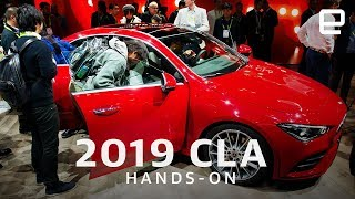2019 Mercedes CLA at CES 2019: The coupe that responds to your gestures