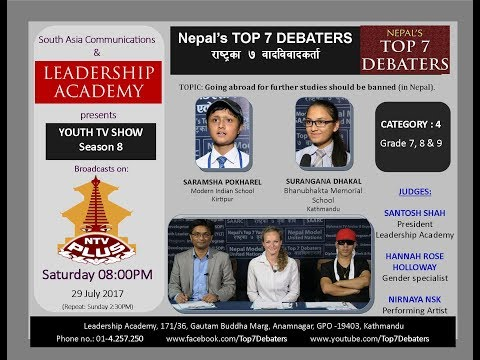 Debate: Going abroad for further studies should be banned (in Nepal)