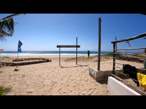 Vlog 10: A walk through Tofo Scuba, Tofo Mozambique