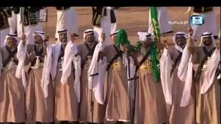 بالفيديو.. خادم الحرمين يتفاعل ويؤدي العرضة في ختام مهرجان الملك عبدالعزيز للإبل