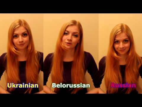 3 slavic languages: Ukrainian, Russian and Belarusian