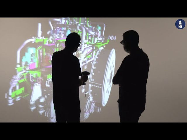 Naval Group's Propulsion Systems: Augmented Reality