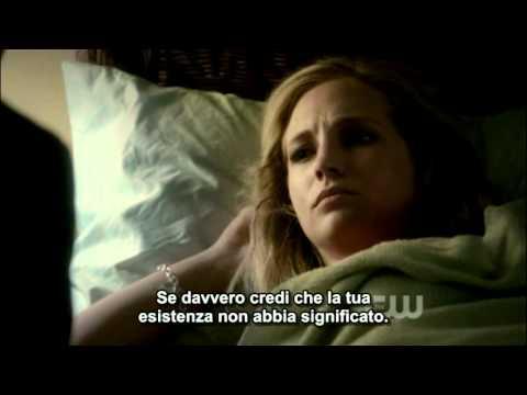 Happy Birthday Caroline. Klaus and Caroline. The Vampire Diaries. 3x11. Our Town. Sub ita.