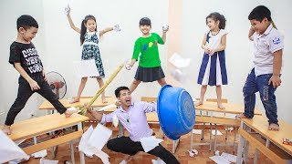 Kids Go To School | Chuns And Friend Learn Color Animal Funny Class