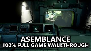 Asemblance - 100% Full Game Walkthrough - All Achievements/Trophies - 1,000 Gamerscore in 30 Minutes