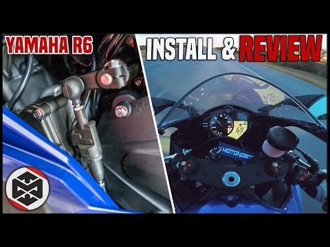 Yamaha R6 Build - Quickshifter Install & First Ride / Review!!