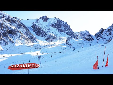 Shymbulak Ski Resort Almaty Kazakhstan - Best Tourist Attraction [HD Video]