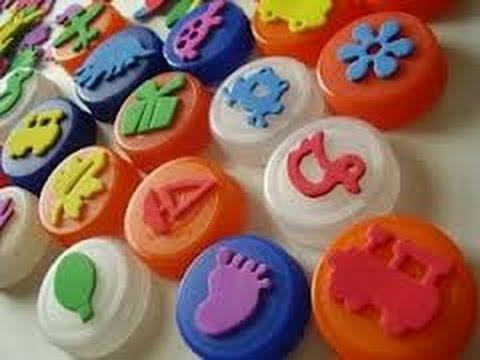 Manualidades en material reciclable para niños de preescolar