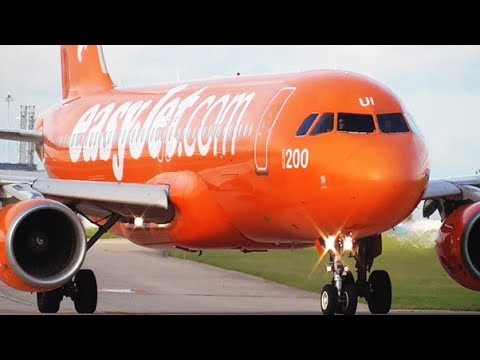 Close-up Afternoon Departures at Manchester Airport | RWY23L & RWY23R | 28/09/2017