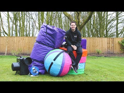 Inflatable Wrecking Ball UK Hire