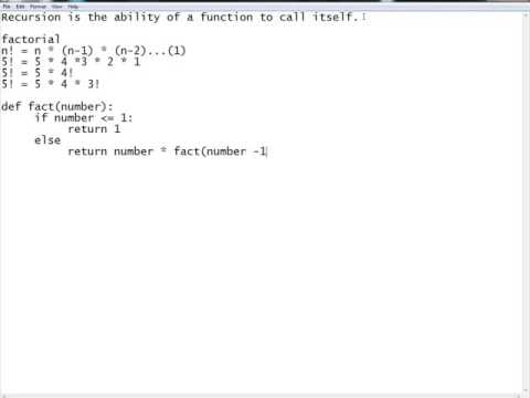 Functional Programming: Recursion